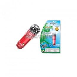 Ионизатор - освеж. воздуха JASPER Красный в прикуриватель @