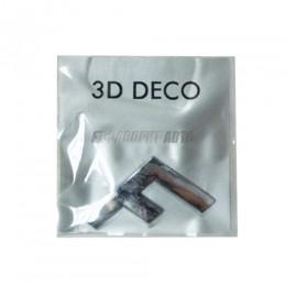 Наклейка Carpoint 3D буква
