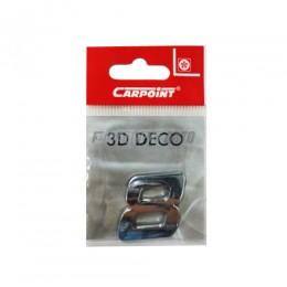 Наклейка Carpoint 3D цифра