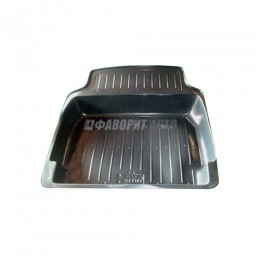 Коврик багажника ВАЗ-2105-07 пластик (Тверь пластик)  #