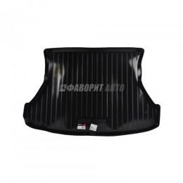 Коврик багажника ВАЗ-1117 пластик  (Тверь пластик)  #