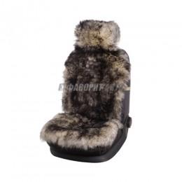 Накидка на сиденье  нат.мех овчина PSV Jolly Extra Parts белая 1 шт  @