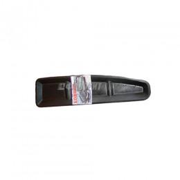 Коврик на панель приборов ГАЗ 3110 резиновый черный 01925