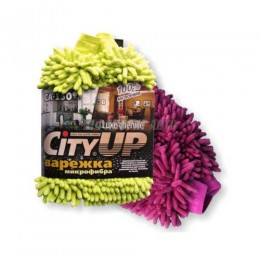 Губка-Варежка Шиншилла Lux  CA-150  City Up  @