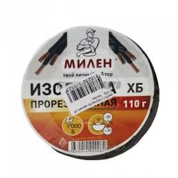 Изолента черная х/б  110гр   Милен
