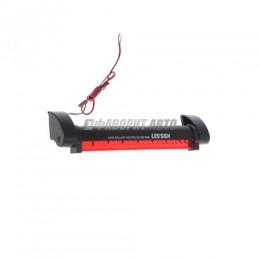 Стоп-сигнал дополнительный 12В 24 светодиода 22см красный Nova Bright  BL51005