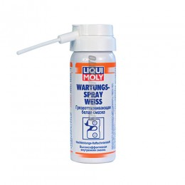 Смазка грязеотт белая  Wartungs-Spray weiss (0,05л)  LiquiMoly LM7556
