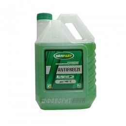 Антифриз OIL RIGHT -40 (зеленый) ГОСТ  5 кг.арт.2902