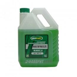 Антифриз OIL RIGHT -40 (зеленый) ГОСТ  3 кг. арт. 5237