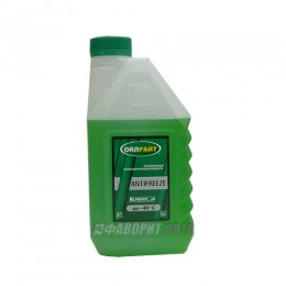 Антифриз OIL RIGHT -40 (зеленый) ГОСТ  1 кг. арт. 2903