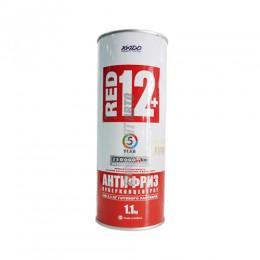 Антифриз XAДO Red 12+ (суперконц) (жест 1,1 кг) @
