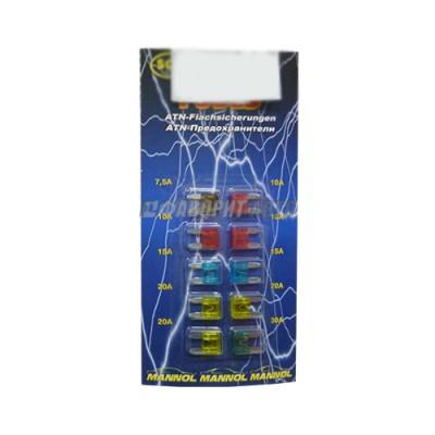 Предохранитель SCT-9502 (10шт) /50 флаж мини (иномар)