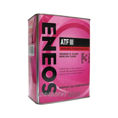 Трансмиссионное масло ENEOS ATF DEX III, 4л