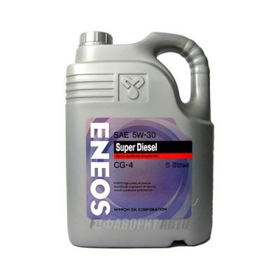 Моторное масло ENEOS 5W-30, 6л, полусинтетическое