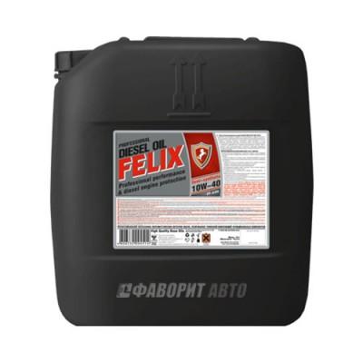 Моторное масло FELIX Diesel 10W-40, 18л, полусинтетическое