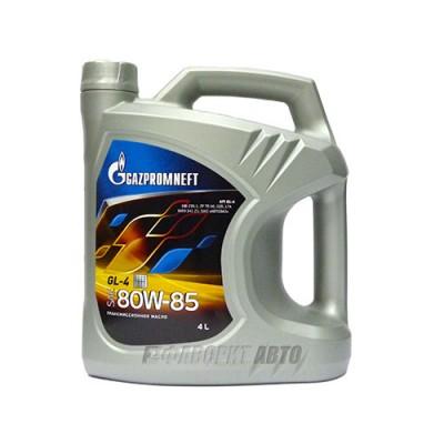 Трансмиссионное масло Gazpromneft 80W-85, 4л, минеральное
