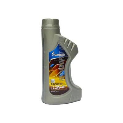 Моторное масло Gazpromneft Premium N/L 10W-40, 1л, полусинтетическое