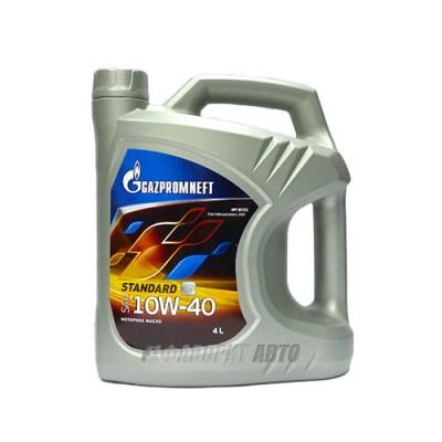 Моторное масло Gazpromneft Standard 10W-40, 4л, минеральное