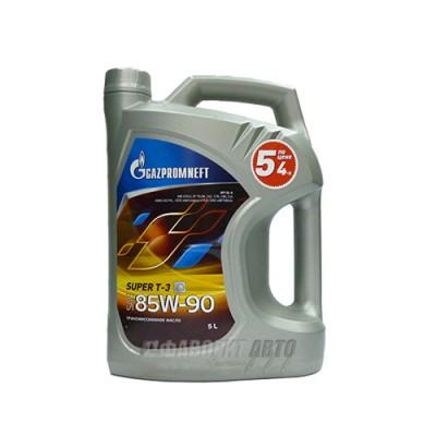 Трансмиссионное масло Gazpromneft Super T-3, 5л, минеральное