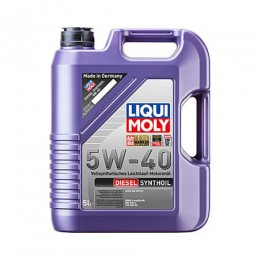 LiquiMoly Diesel Synthoil 5W-40 синт  5л CF B4 LM1927