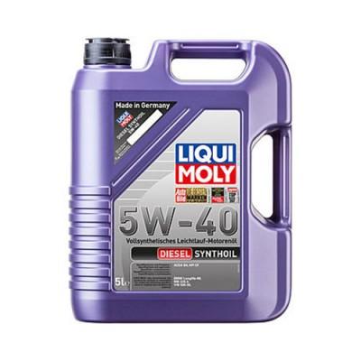 Моторное масло LiquiMoly Diesel Synthoil 5W-40, 5л, синтетическое