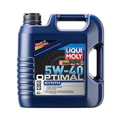 Моторное масло LiquiMoly Optimal Synth 5W-40, 4л, синтетическое
