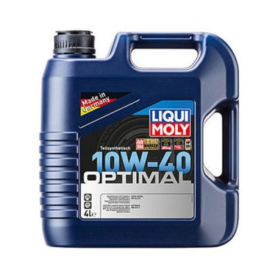 Моторное масло LiquiMoly Optimal HC 10W-40, 4л, полусинтетическое
