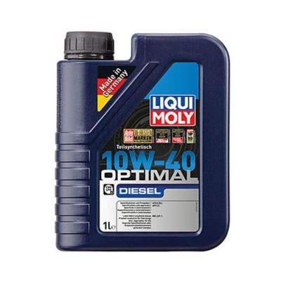 Моторное масло LiquiMoly Optimal Diesel HC 10W-40, 1л, полусинтетическое