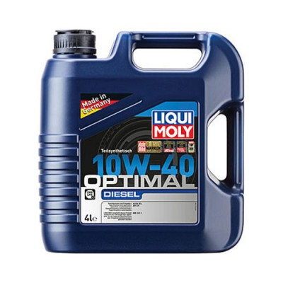 Моторное масло LiquiMoly Optimal Diesel HC 10W-40, 4л, полусинтетическое