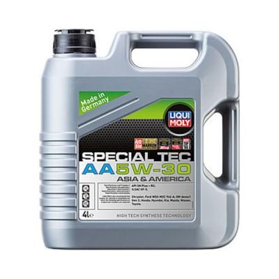 Моторное масло LiquiMoly Leichtlauf Spezial AA 5W-30, 4л, синтетическое