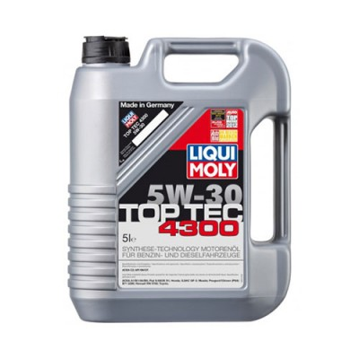 Моторное масло LiquiMoly HC Top Tec 4300 5W-30, 5л, синтетическое