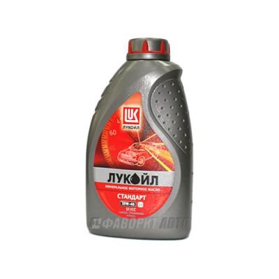 Моторное масло Лукойл СТАНДАРТ 10W-40, 1л, минеральное