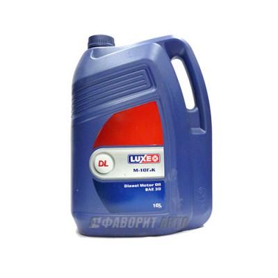Моторное масло LUXE (DL) М10Г2К, 10л, минеральное