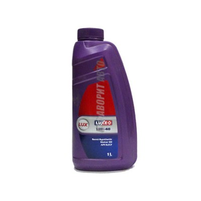 Моторное масло LUXE Люкс 10W40, 1л, полусинтетическое