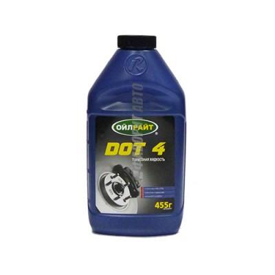 Тормозная жидкость OIL RIGHT DOT-4, 0,45л