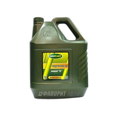 Гидравлическое масло OIL RIGHT марки А, 10л, минеральное