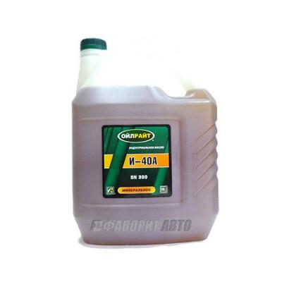 Индустриальное масло OIL RIGHT И-40А, 10л