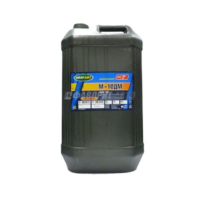 Моторное масло OIL RIGHT М-10ДМ, 30л, минеральное