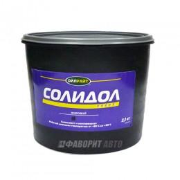 Смазка OIL RIGHT солидол жировой  (ведро) 2,1кг  арт.6016