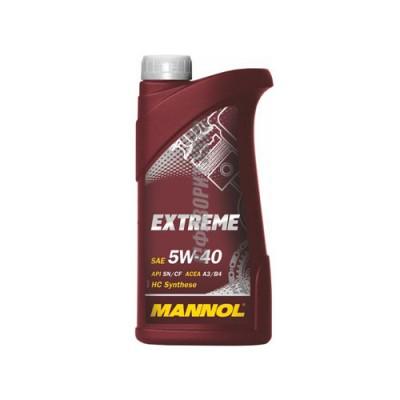 Моторное масло MANNOL Extreme 5W-40, 1л, синтетическое