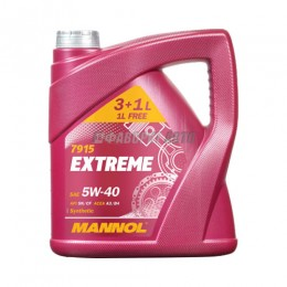 MANNOL  Extreme   5*40    3л+1л  синт  АКЦИЯ