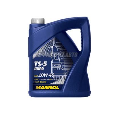 Моторное масло MANNOL TS-5 10W-40 UHPD, 5л, синтетическое