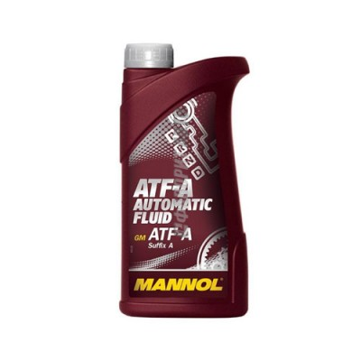 Трансмиссионное масло MANNOL ATF-A Automatic Fluid Suffix, 1л, минеральное