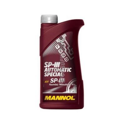 Трансмиссионное масло MANNOL ATF SP-III Avtomatic Special, 1л, синтетическое