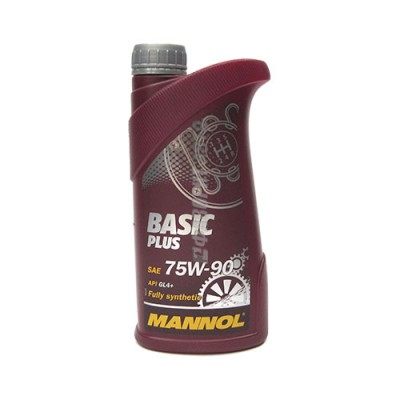 Трансмиссионное масло MANNOL 75W-90 Basik Plus, 1л, синтетическое