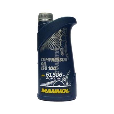 Компрессорное масло MANNOL Compressor Oil ISO 100, 1л, минеральное