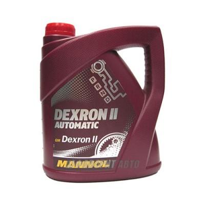 Трансмиссионное масло MANNOL Dexron II, 4л, минеральное