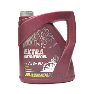 Трансмиссионное масло MANNOL Extra Getriebeoel, 4л, синтетическое
