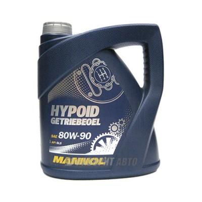 Моторное масло MANNOL Hipoid Getribeoel 80W-90, 4л, минеральное