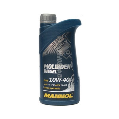 Моторное масло MANNOL MOS Diesel 10W-40, 1л, полусинтетическое